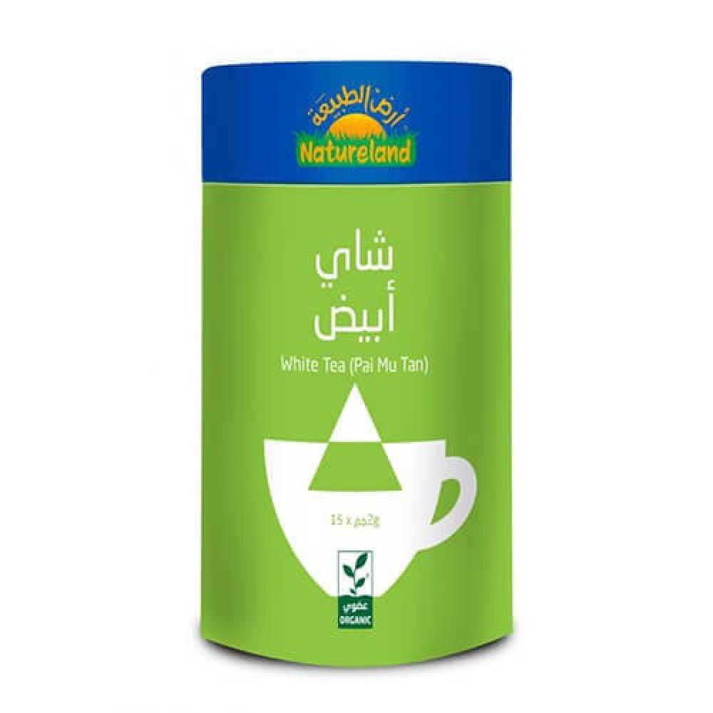 شاي أبيض عضوي 30 جرام