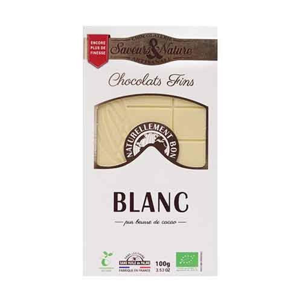 شوكولاتة بيضاء عضوي 100 جرام