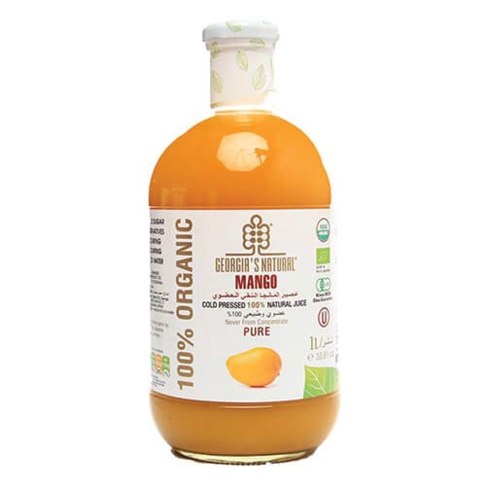 عصير المانجا العضوي النقي 1 لتر