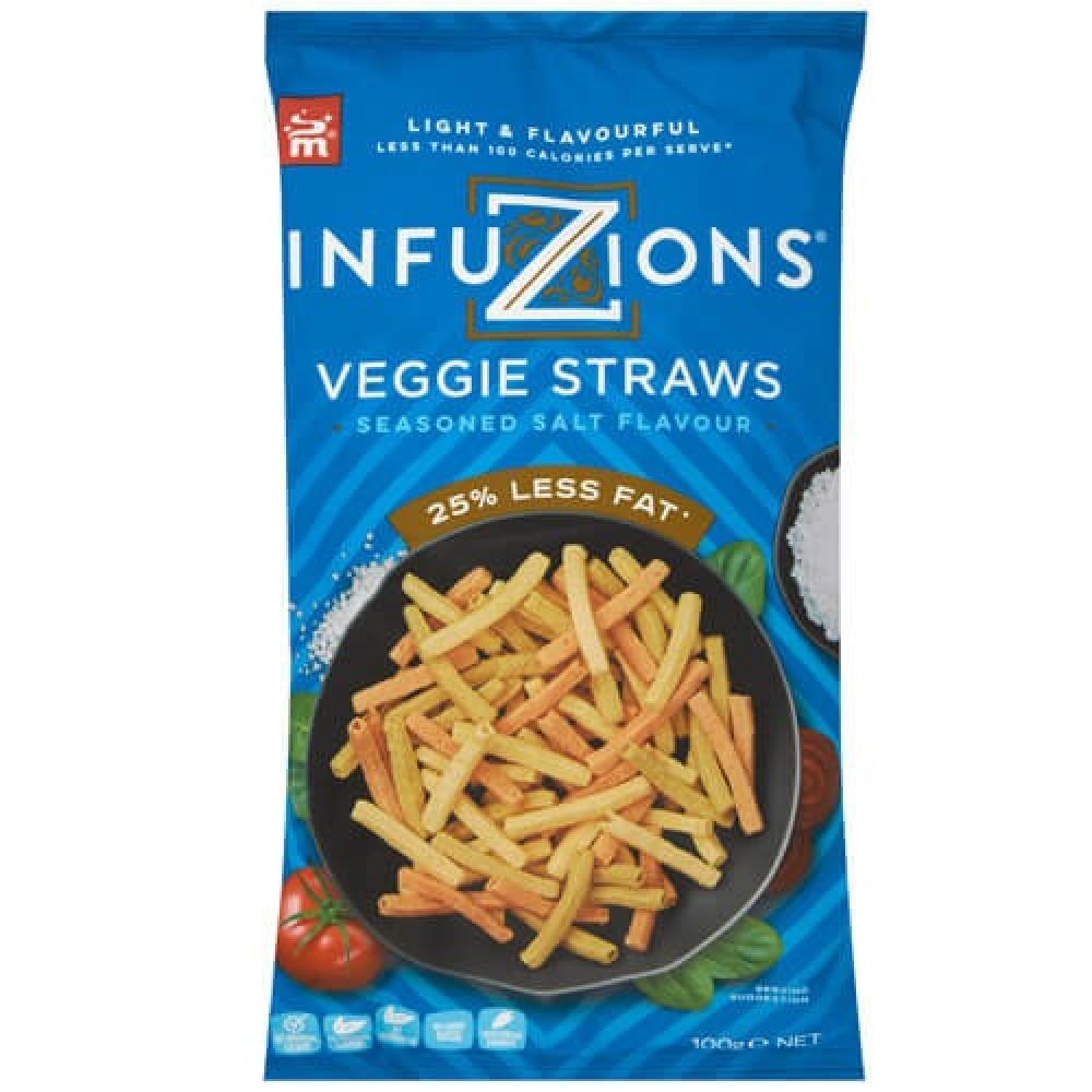 رقائق أصابع الخضروات بنكهة الملح 100 جرام