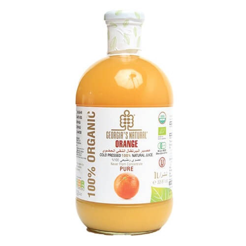عصير البرتقال العضوي النقي 1 لتر