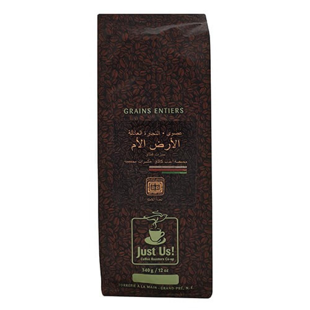 قهوة الأرض الأم عضوي 340 جرام