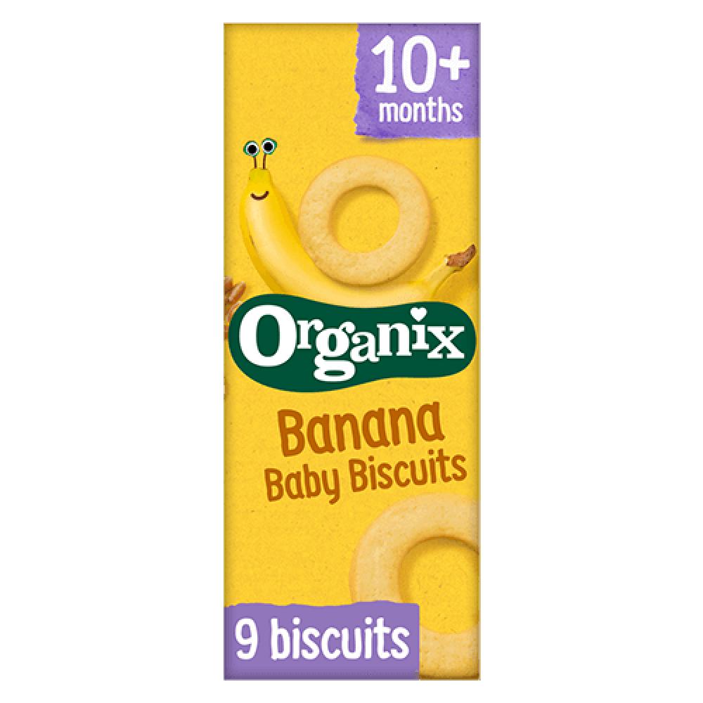 بسكويت بنكهة الموز عضوي 54 جرام