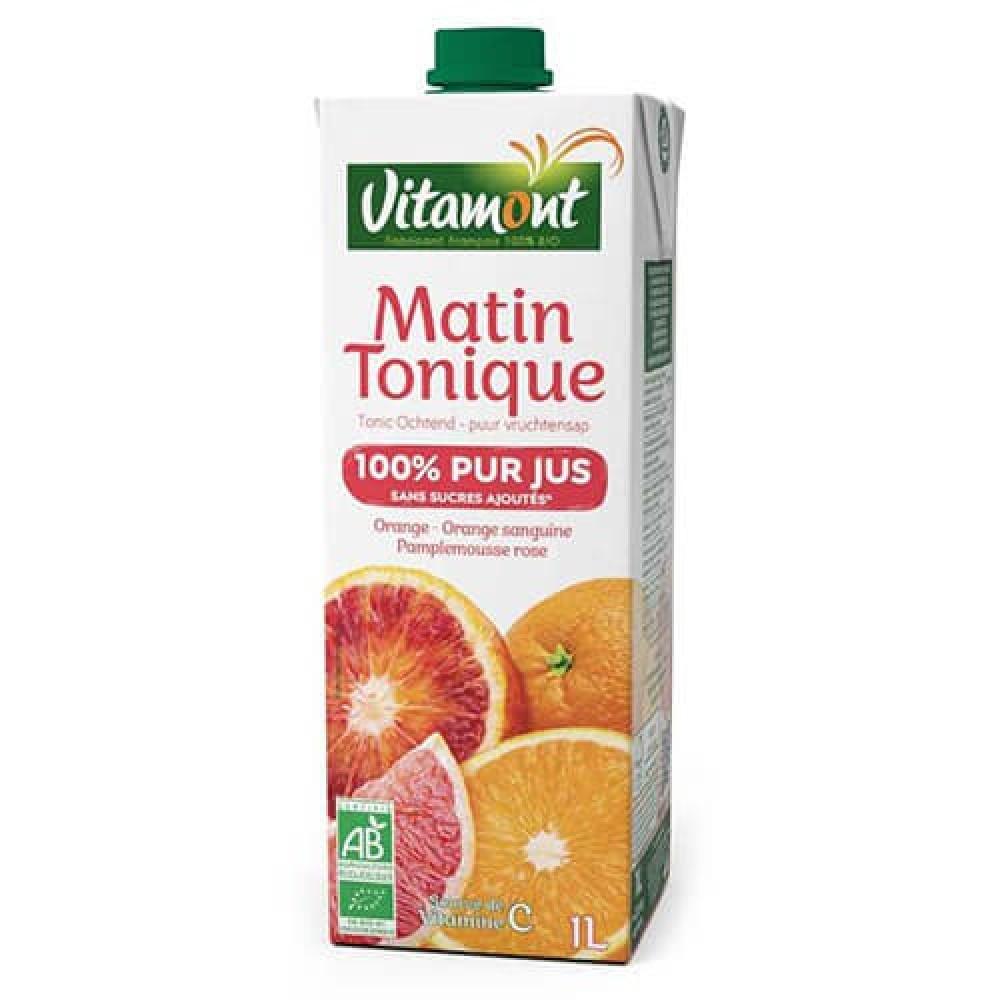 عصير الفاكهة تونيك مورنينق عضوي 1 لتر