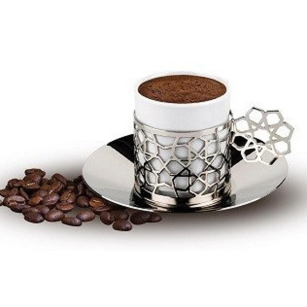 فاكير صانعة قهوة تركية كافي مونو لون ابيض Fakir Powder Turkish Coffee