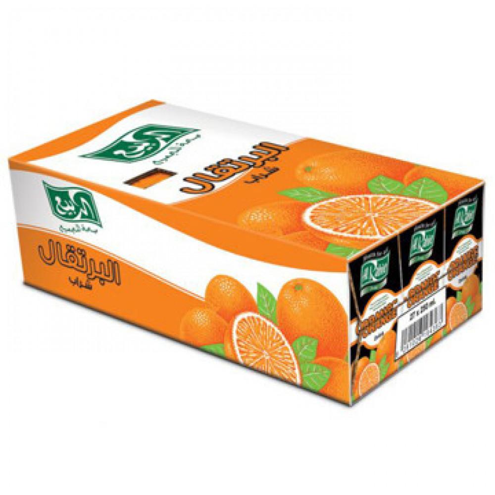 عصير ربيع برتقال صغير
