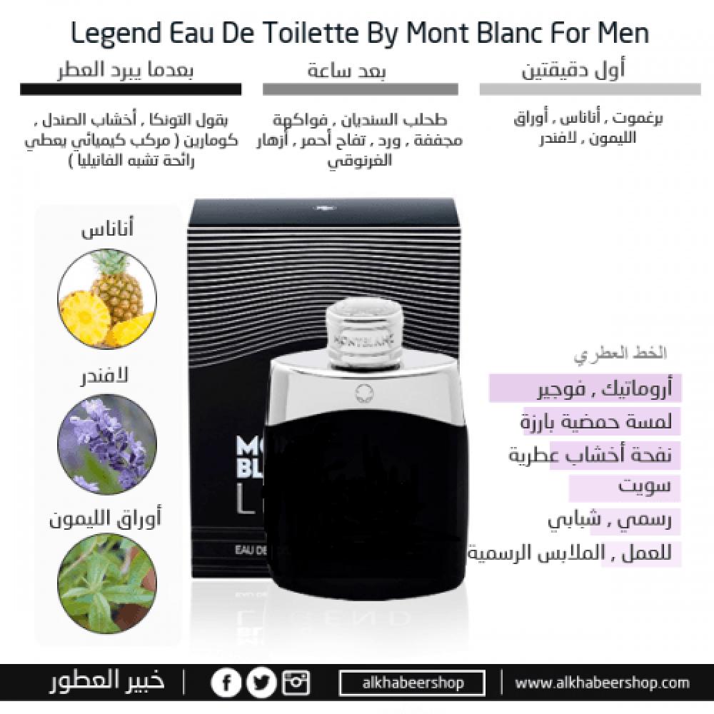 Mont Blanc Legend Eau de خبير العطور