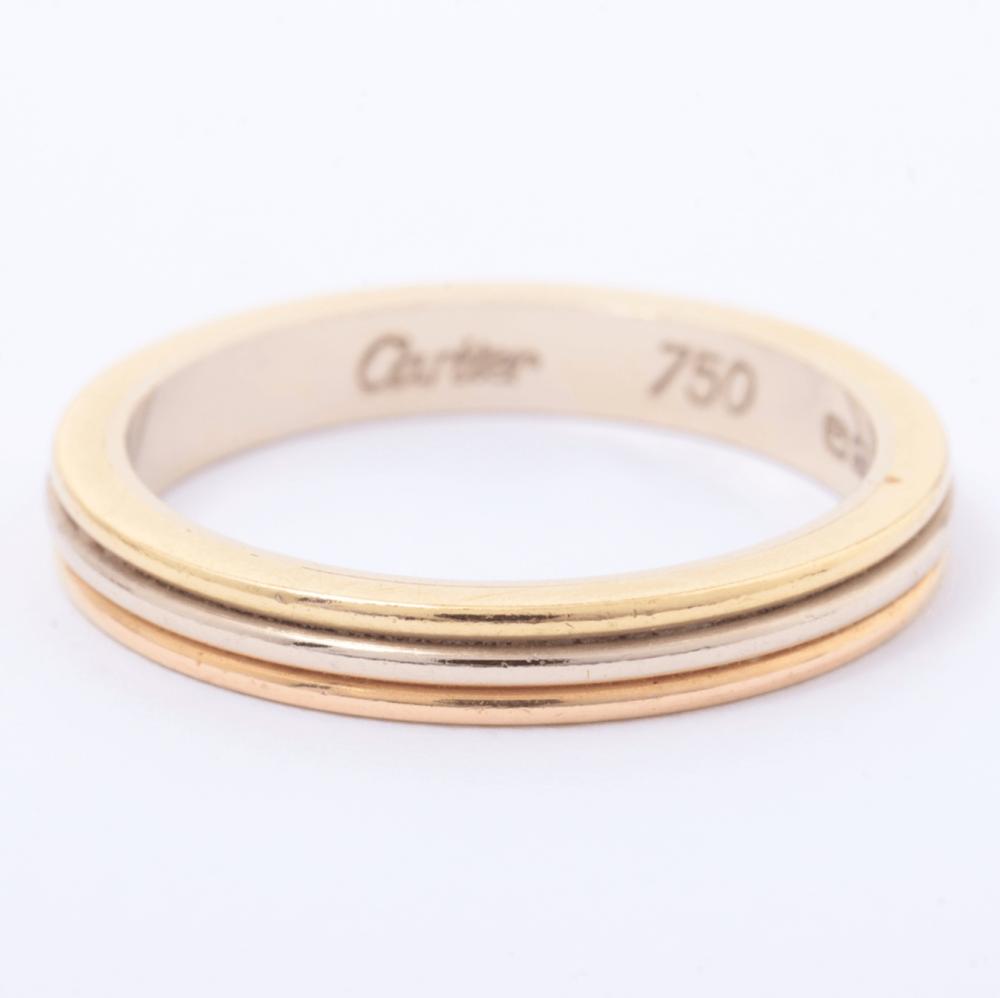 خاتم كارتييه تريكولور الأصلي