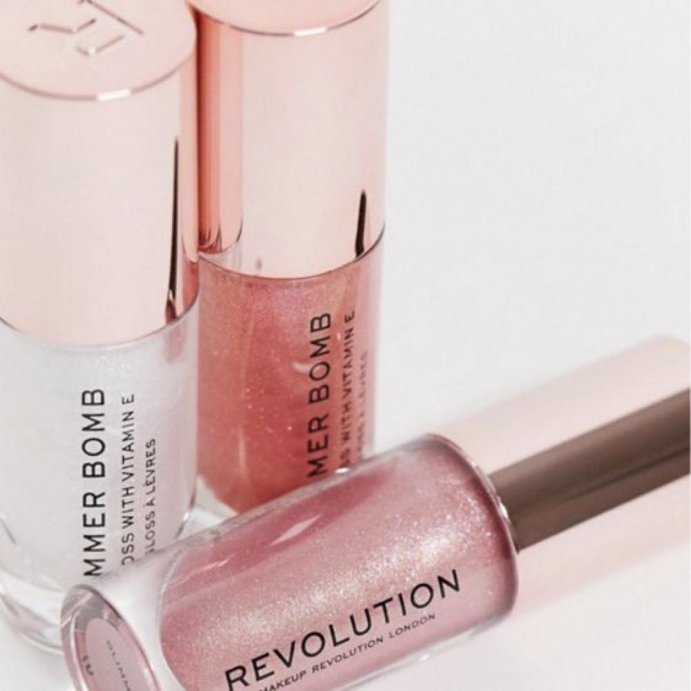 قلوس من ريفلوشن Revolution Pout Bomb Plumping Lip Gloss - Glimmer