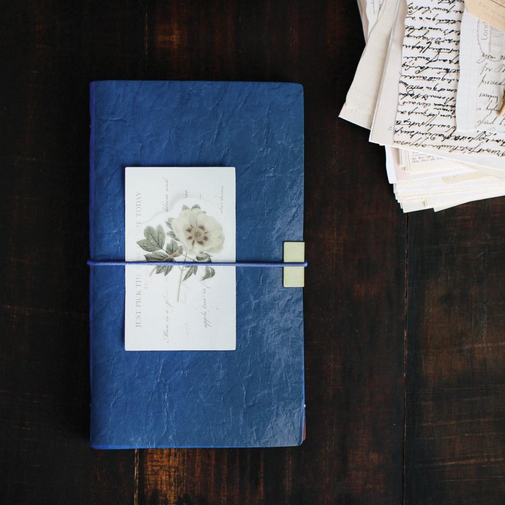 دفاتر جلد فنتج أزرق دفتر ملاحظات هدايا رجالية نسائية مذكرات كشكول متجر