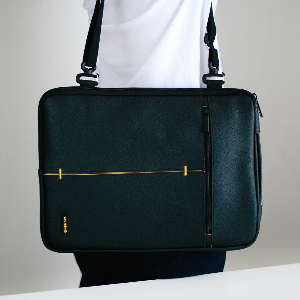 حقيبة لابتوب جلد رجالية نسائية حقائب كمبيوتر لابتوب 13 انش متجر حقائب