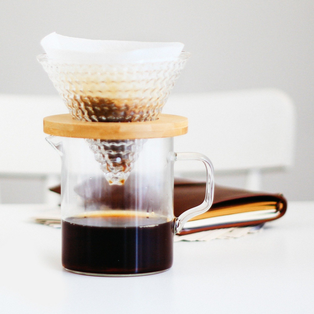 طريقة القهوة المقطرة أفضل فلتر v60 كيمكس متجر أدوات القهوة المختصة