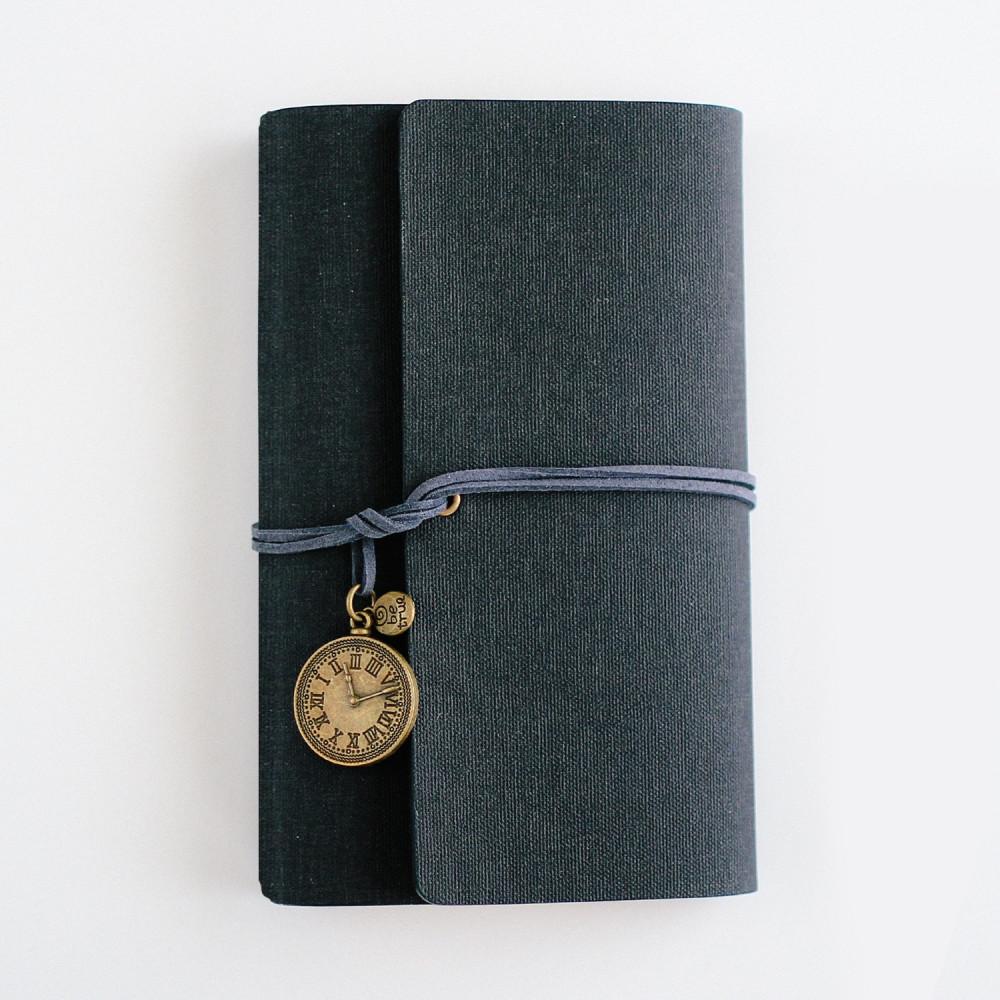 أجندة دفتر ملاحظات أفكار هدايا رجالية نسائية ترقية دفتر أسود متجر