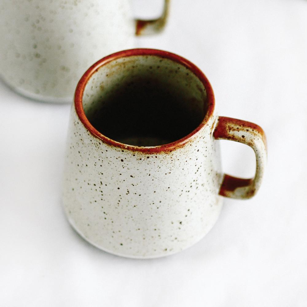 كوب قهوة كوب لاتيه كابتشينو شغل يدوي بني ركن القهوة متجر أكواب هدايا