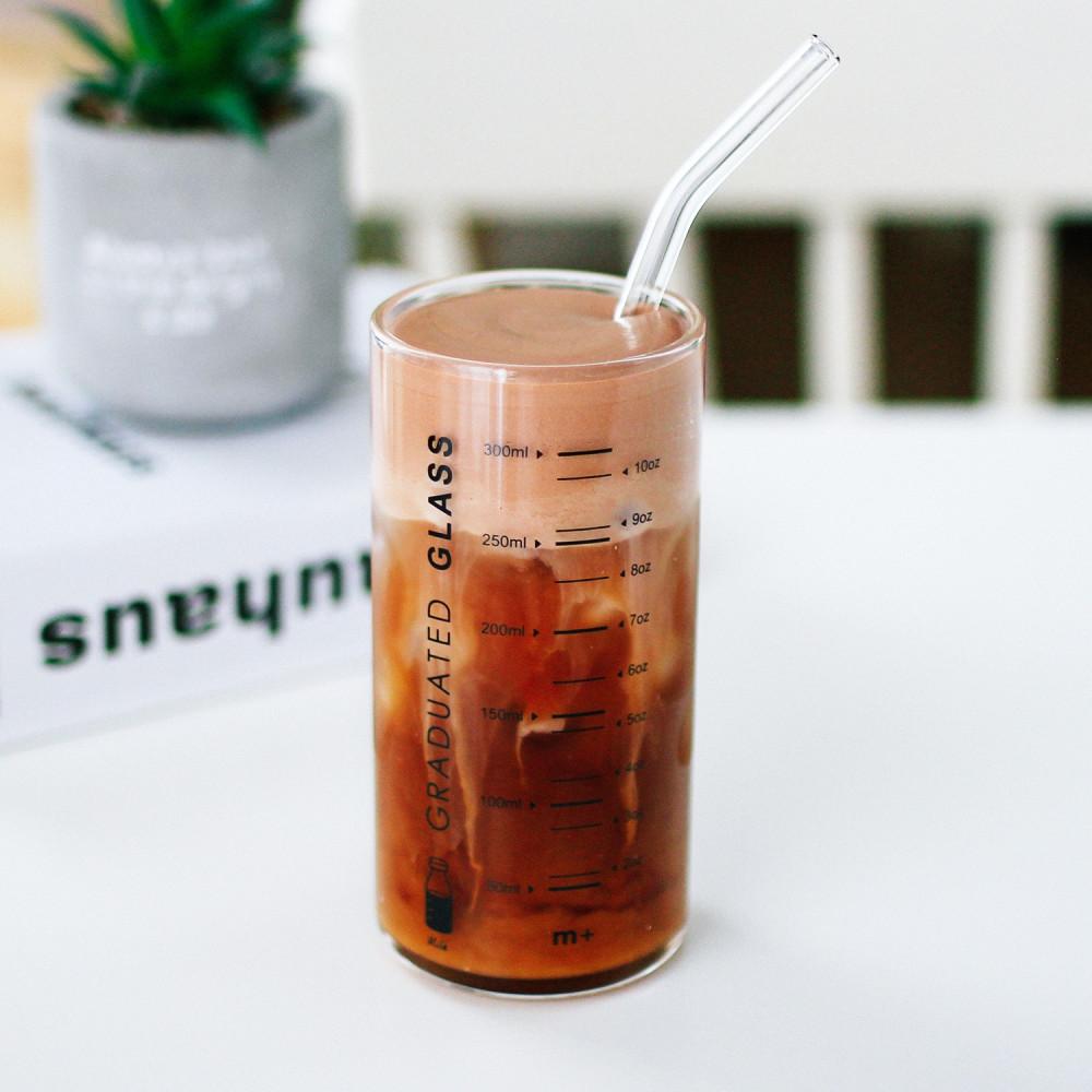 كوب قهوة زجاج قزاز طريقة القهوة الباردة أدوات القهوة المختصة متجر محل