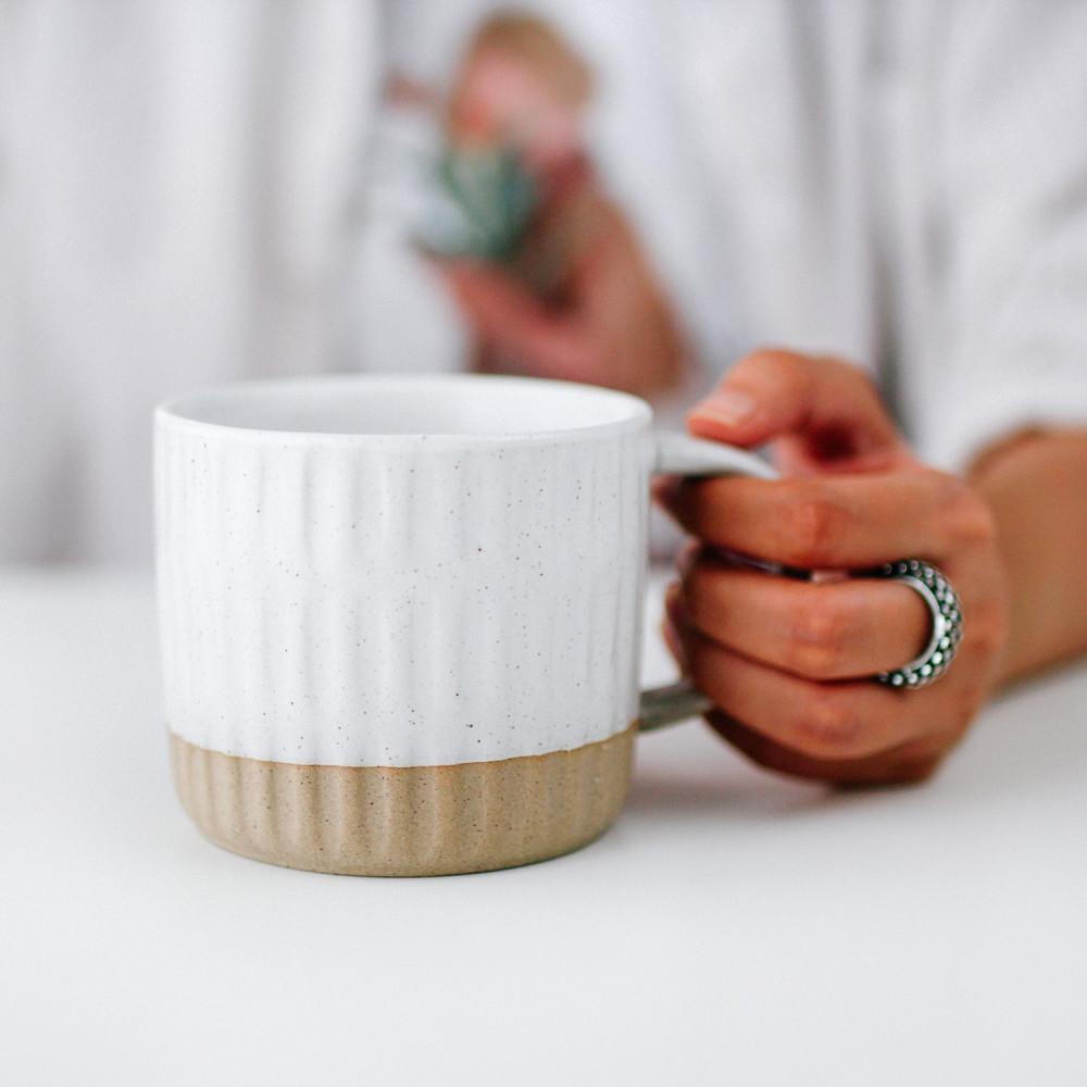 كوب سيراميك صناعة يدوية فخار أكواب قهوة مختصة أدوات القهوة المختصة محل