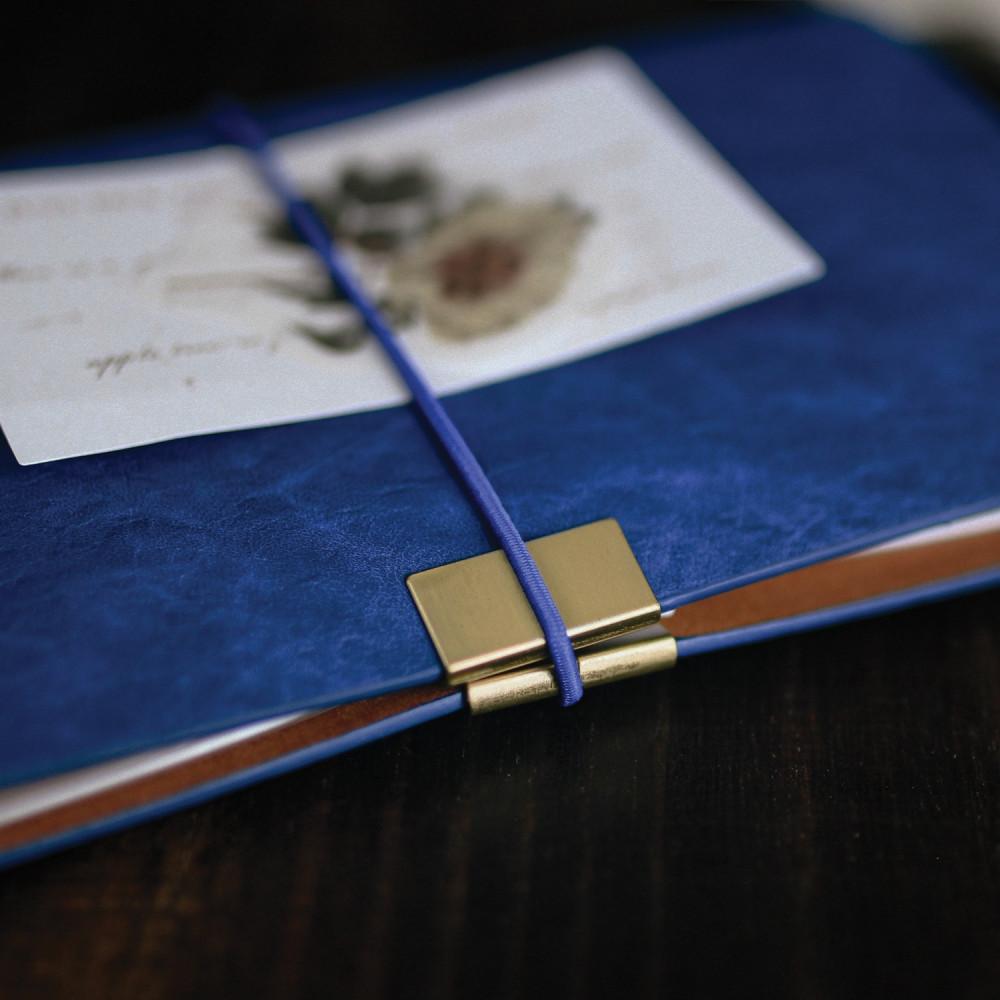 دفتر جلد فنتج أزرق دفاتر ملاحظات أفكار هدايا رجالية نسائية تخرج وظيفة