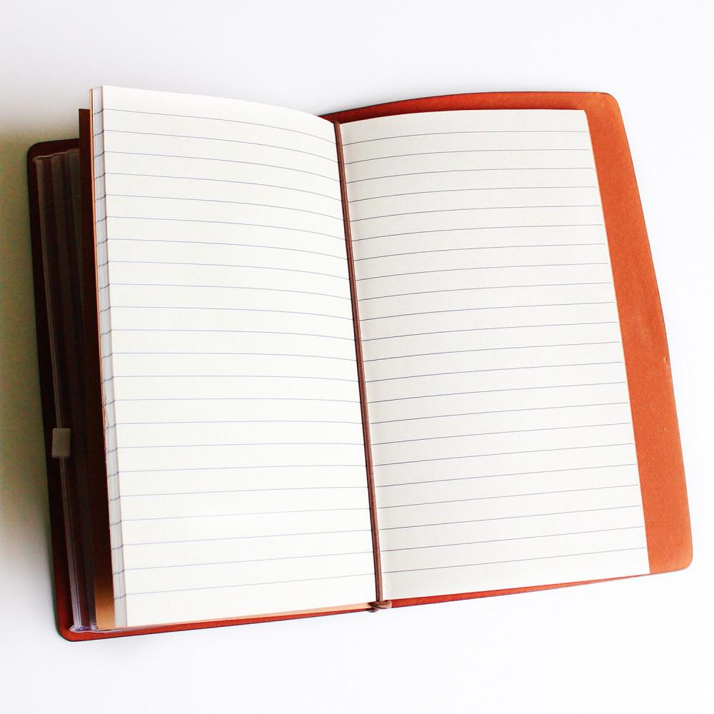 هدايا ترقية للموظفين للموظفات هدية دفتر ملاحظات جلد بني coffee Vibes