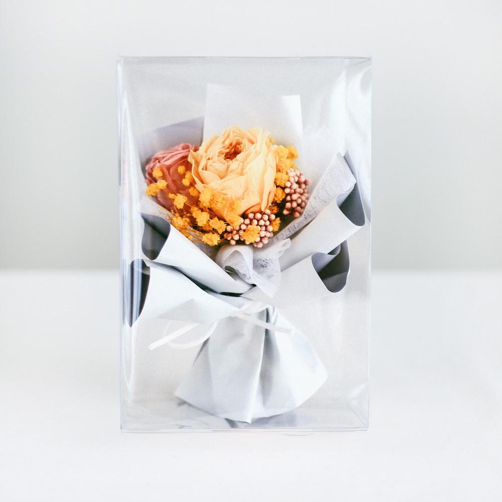 باقة ورود طبيعي Preserved Flower أفكار هدية خطوبة عيد ميلاد تخرج زواج
