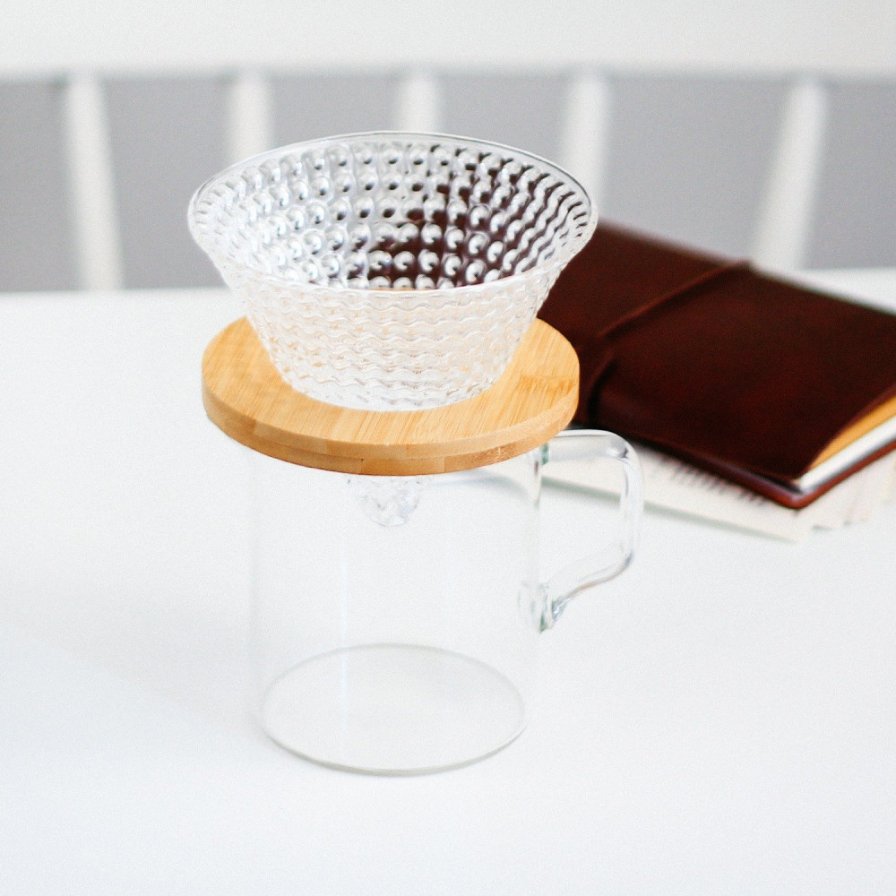 طريقة القهوة المقطرة أفضل قمع v60 كيمكس متجر أدوات القهوة المختصة
