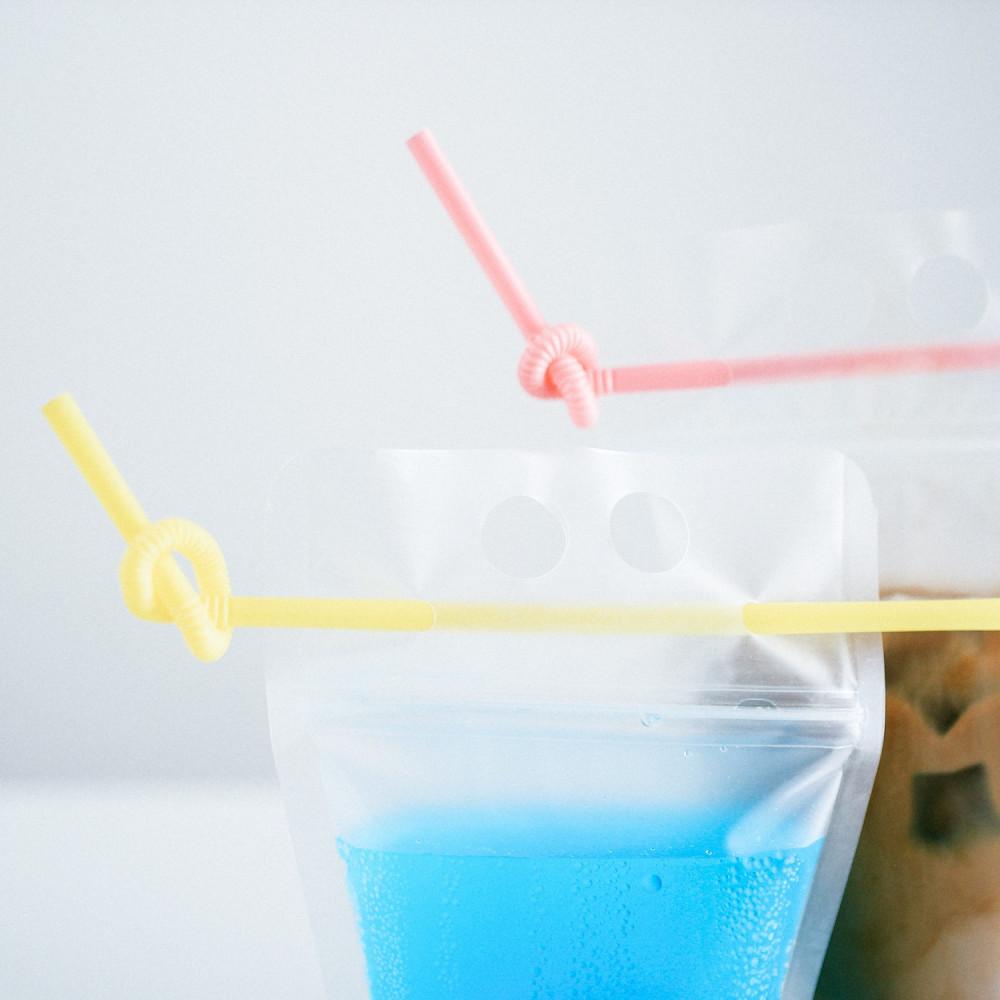 أكياس مشروبات باردة للحفلات أكواب للقهوة الباردة ستاربكس موهيتو أزرق