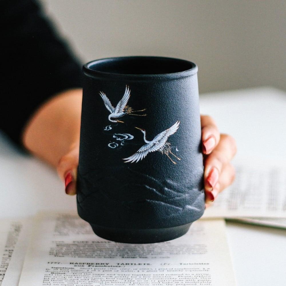 كوب لاتيه كوب قهوة ركن القهوة فلامنغو طائر النورس بحر أكواب قهوة مختصة