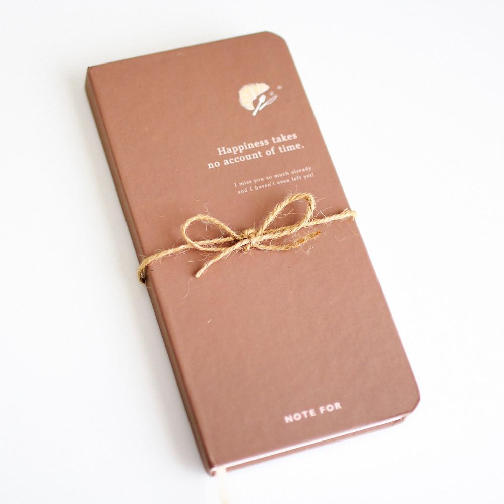 دفتر بني مذكرة مذكرات دفاتر جلد أجندة متجر قرطاسية أفكار هدايا التخرج