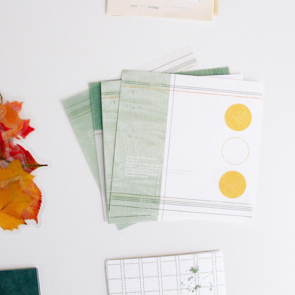 ستيكرات أوراق خريف ستيكر لابتوب فنتج كولاج ملف ورق ملاحظات متجر