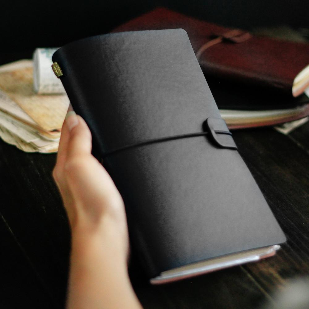 هدايا هدية عيد الميلاد للرجال النساء أجندة أسود مذكرة دفتر ورق متجر