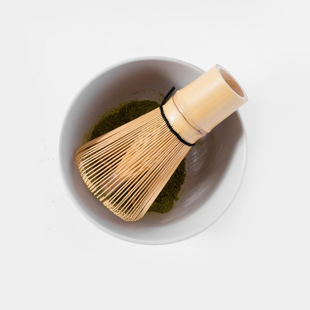 خفاقة الماتشا أداة الماتشا Bamboo Whisk Chasen طريقة تحضير الماتشا