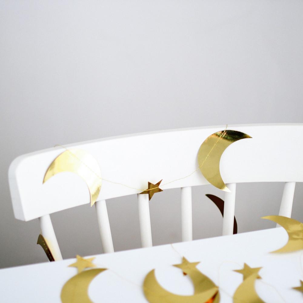 زينة هلال رمضان بنر حفلة ثيم رمضان طاولة الافطار أفكار سفرة رمضان