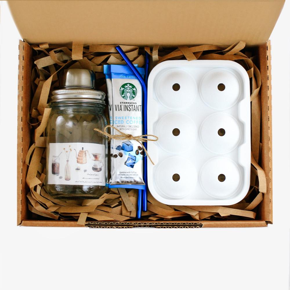 هدية لمحبين القهوة شيكر  أدوات القهوة المختصة طريقة تحضير آيسد لاتيه
