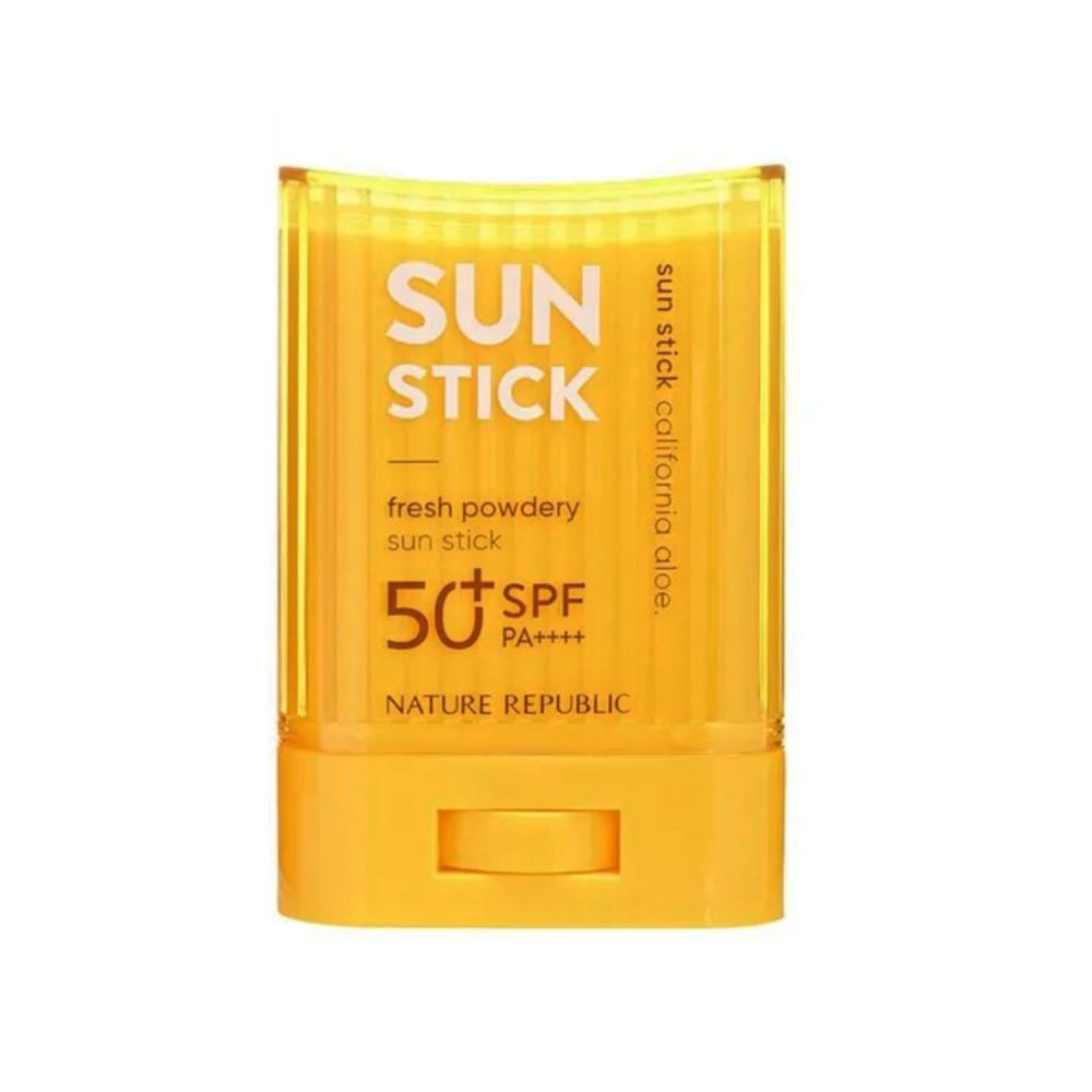 واقي شمس بالصبار قوة حماية 50 NATURE REPUBLIC طريقة حماية البشرة