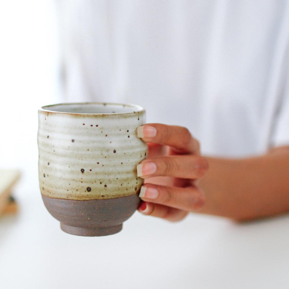 أكواب شغل يدوي كوب قهوة مقطرة فلات وايت اسبريسو كابتشينو قهوة فلتر بن