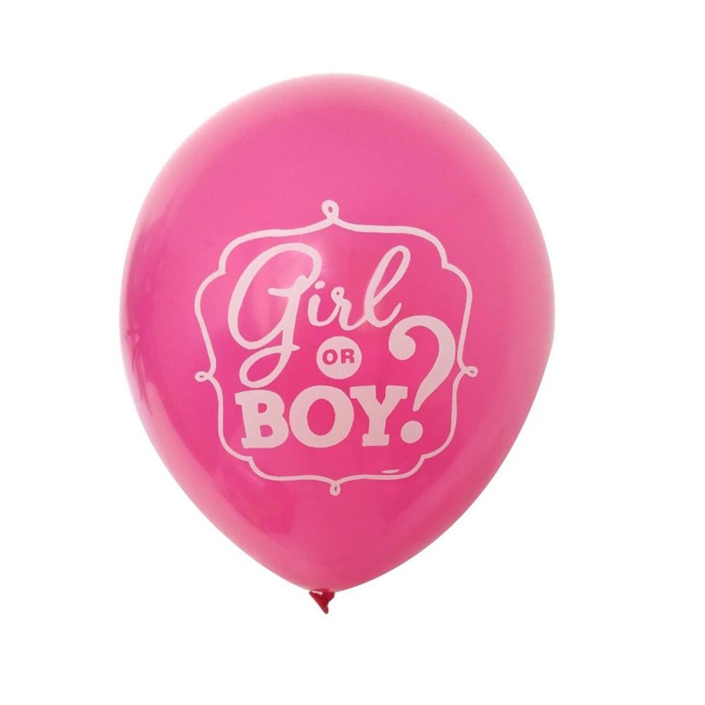 بالونات بالون حفلة الكشف عن جنس الجنين حفلة استقبال مولود ولد أو بنت