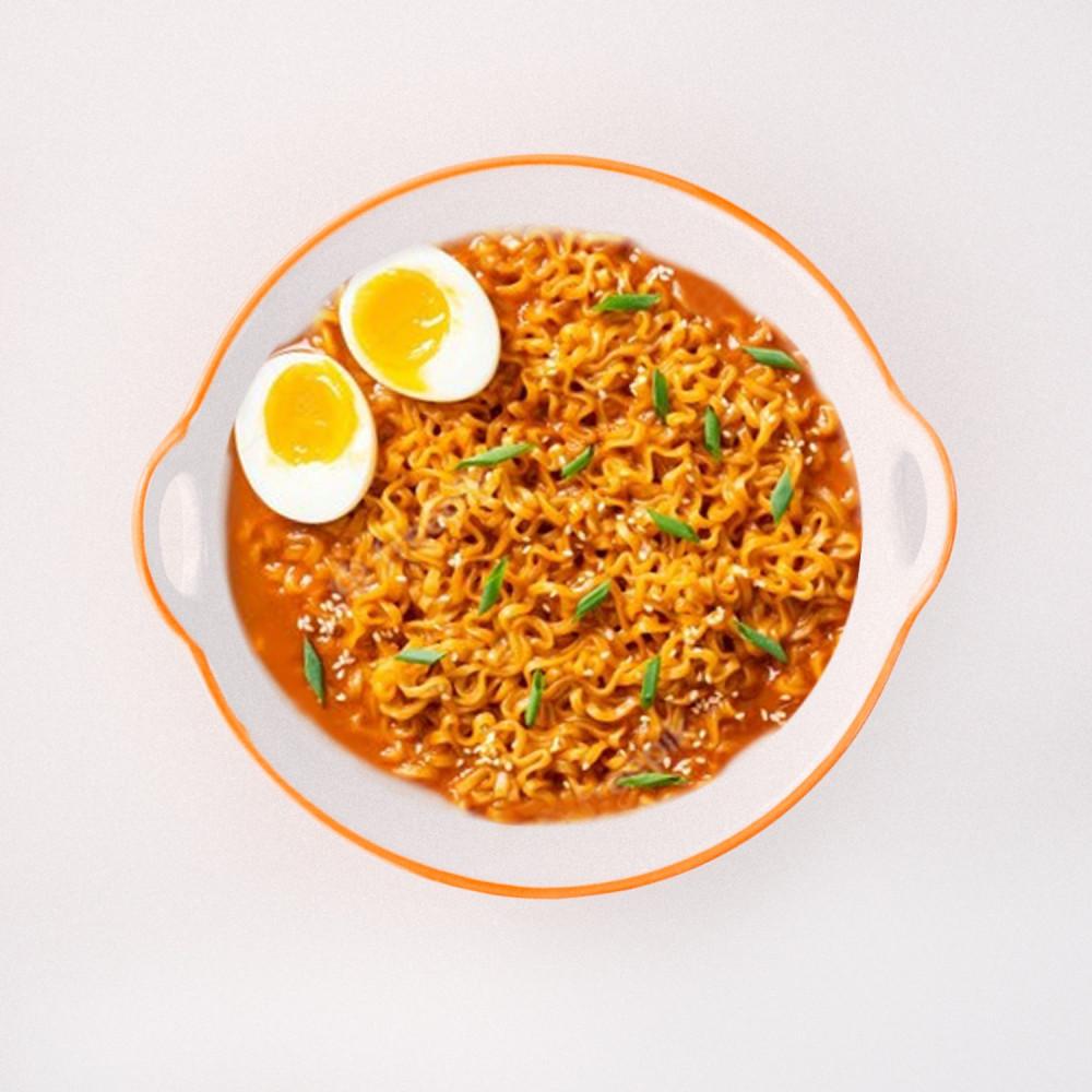 زبدية صحن رامن كوري اندومي نودلز ياباني دكبوكي أرز متجر منتجات كورية