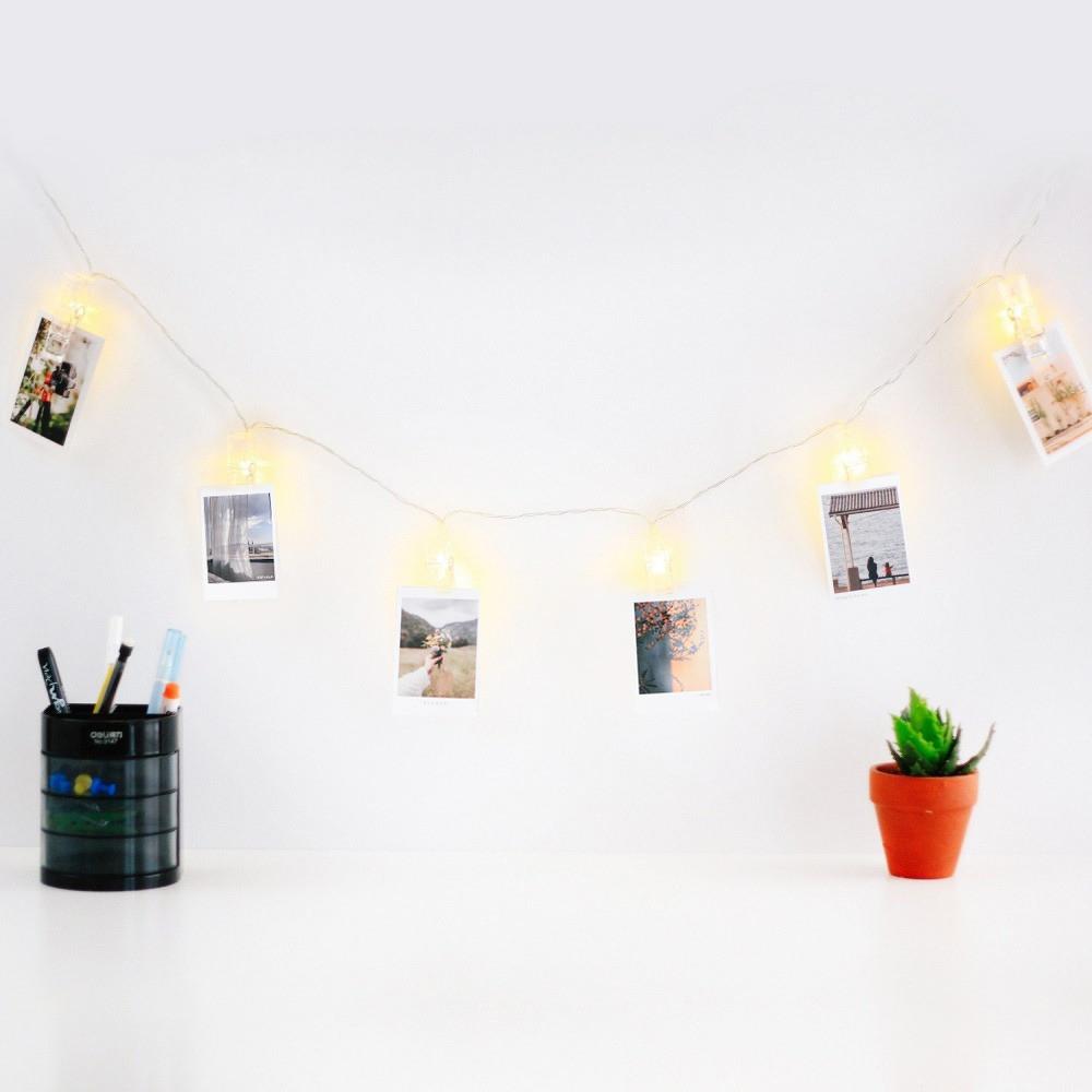 هدايا نسائية إضاءة مشابك صور صورة فوتوغرافية ديكور غرفة النوم المكتب