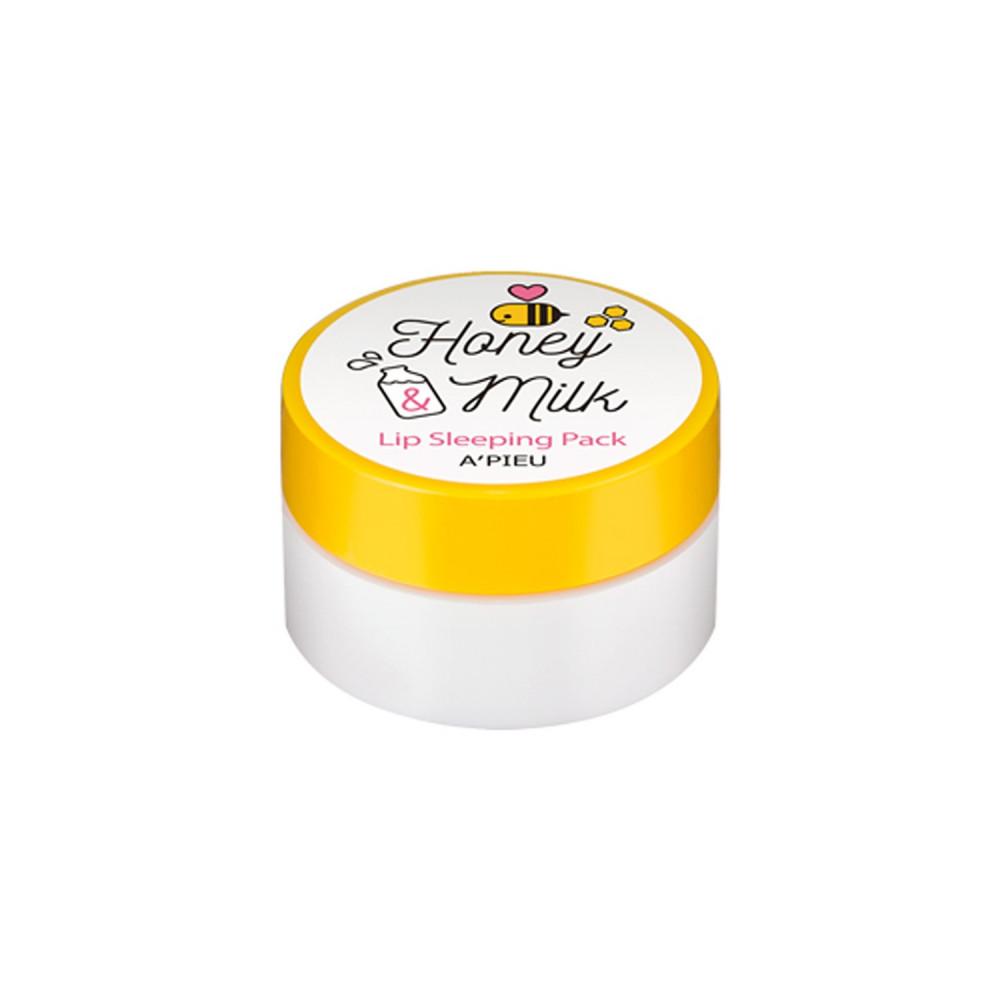 ماسك شفايف بالعسل والحليب APIEU مرطب شفايف أفضل مرطب للشفايف متجر
