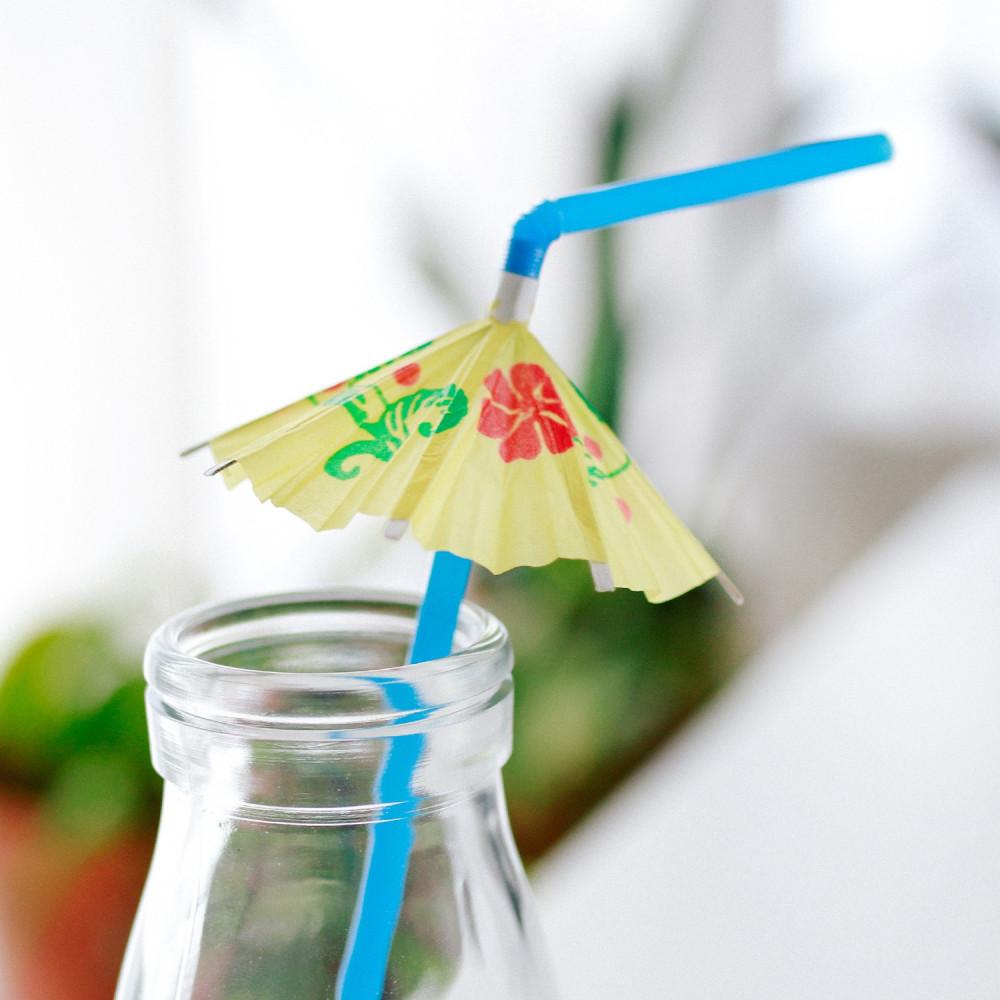 مزاز هاواي شاليه تنسيق طاولة المشروبات ثيم ثيمات الصيف أفكار مشروبات