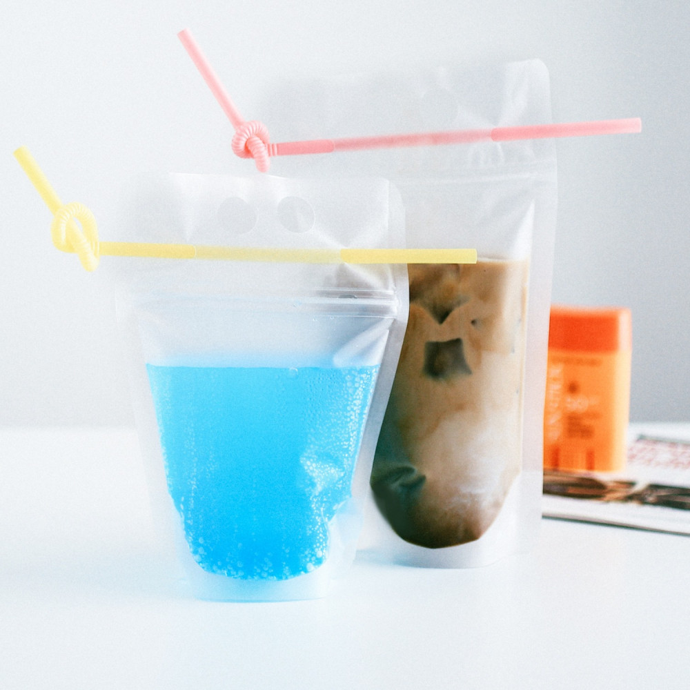 أكياس مشروبات باردة للحفلات لحفلة شاليه استراحة منتجع مسبح تيك توك