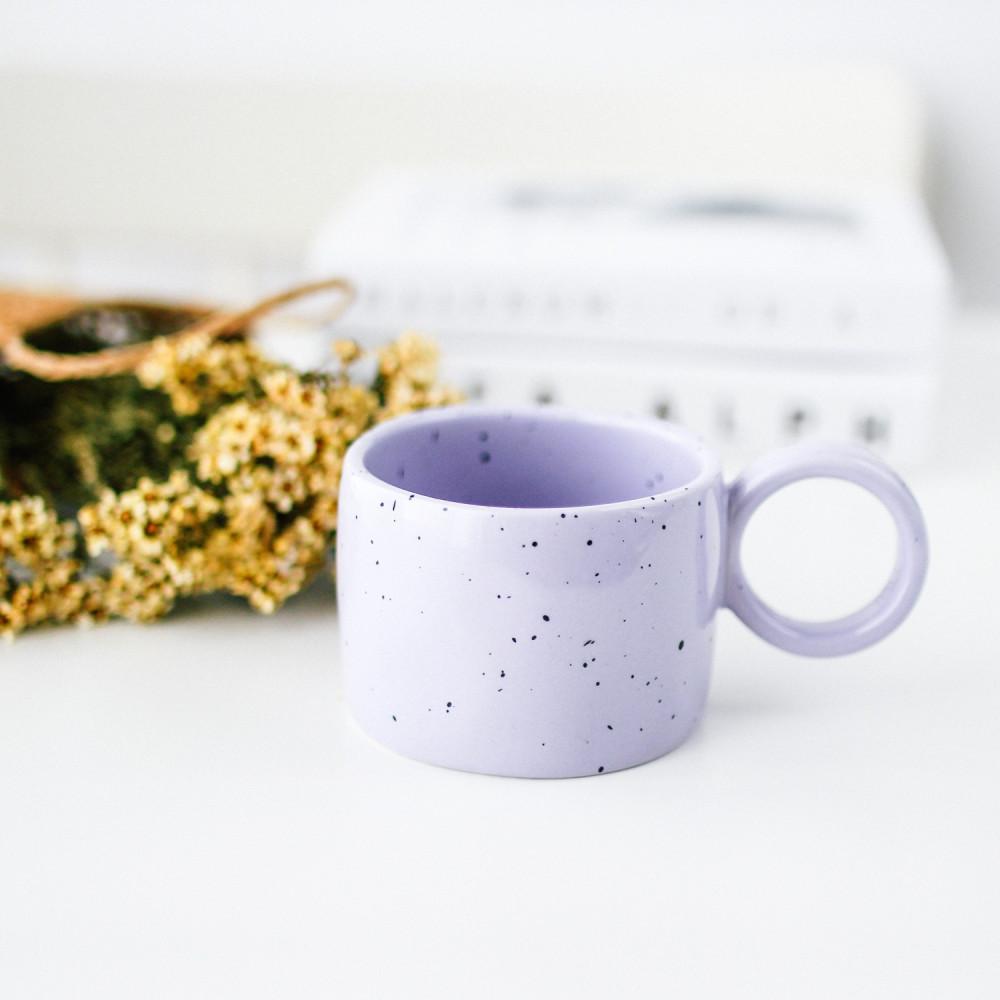 كوب سيراميك خزف أكواب قهوة مختصة لاتيه آرت متجر هدايا ركن القهوة هدية