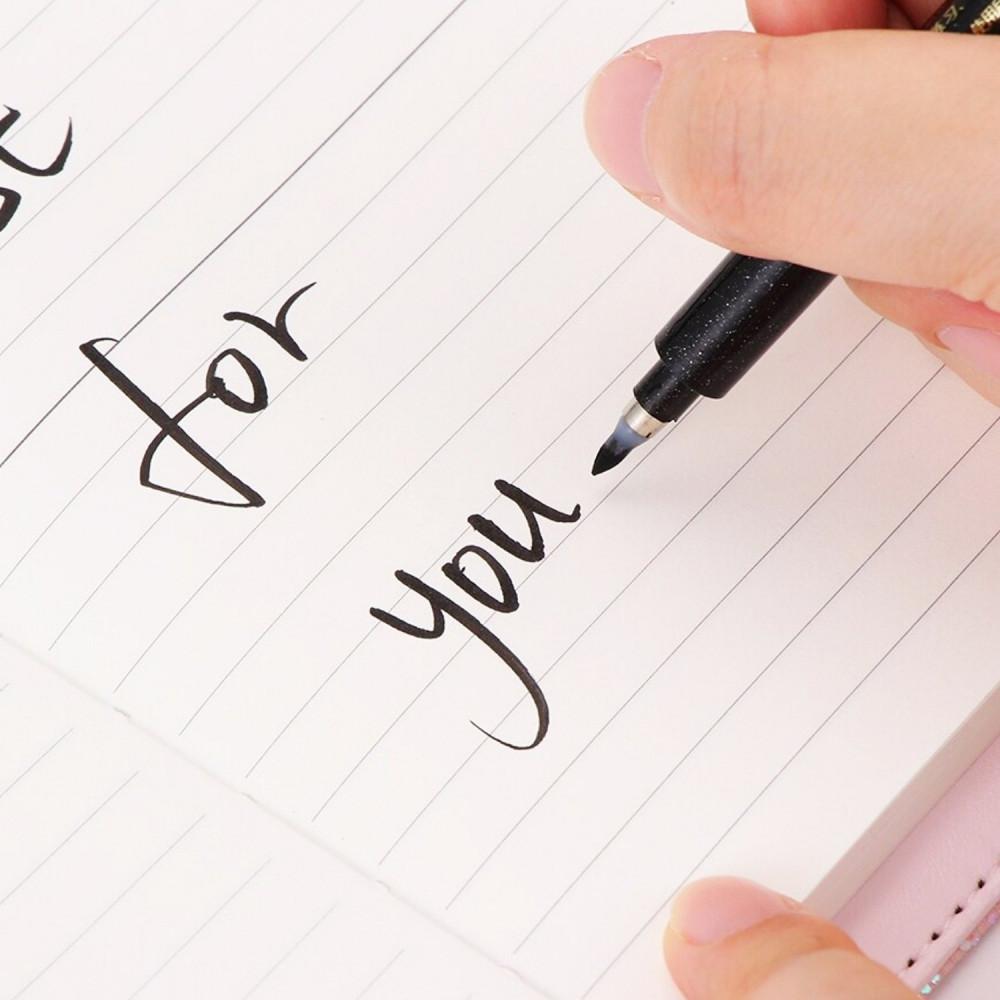 اقلام حبر قلم أسود أبيض أقلام كتابة قلم رسم انمي مانجا طريقة الرسم