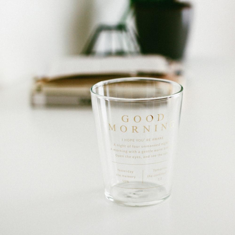 أكواب قزاز كوب قهوة زجاج شفاف ذهبي أكواب زجاج للقهوه دبل قلاس متجر