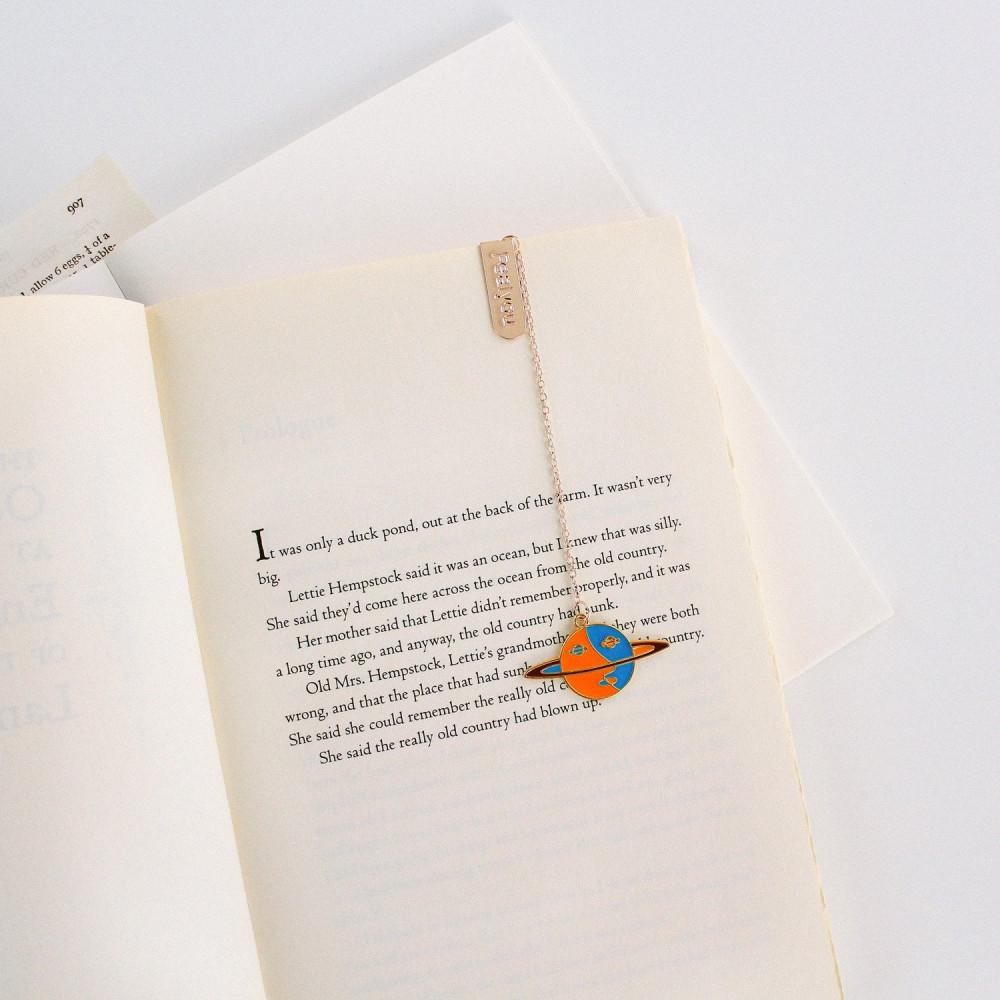 فاصل كتاب كوكب زحل نادي القراءة فواصل كتاب أفكار هدايا نادي القراءة