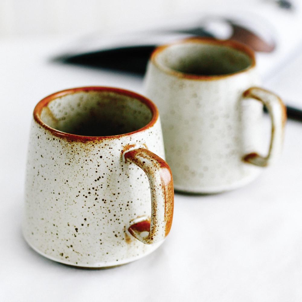 كوب قهوة كوب لاتيه كابتشينو شغل يدوي بني ركن القهوة متجر أكواب قهوة
