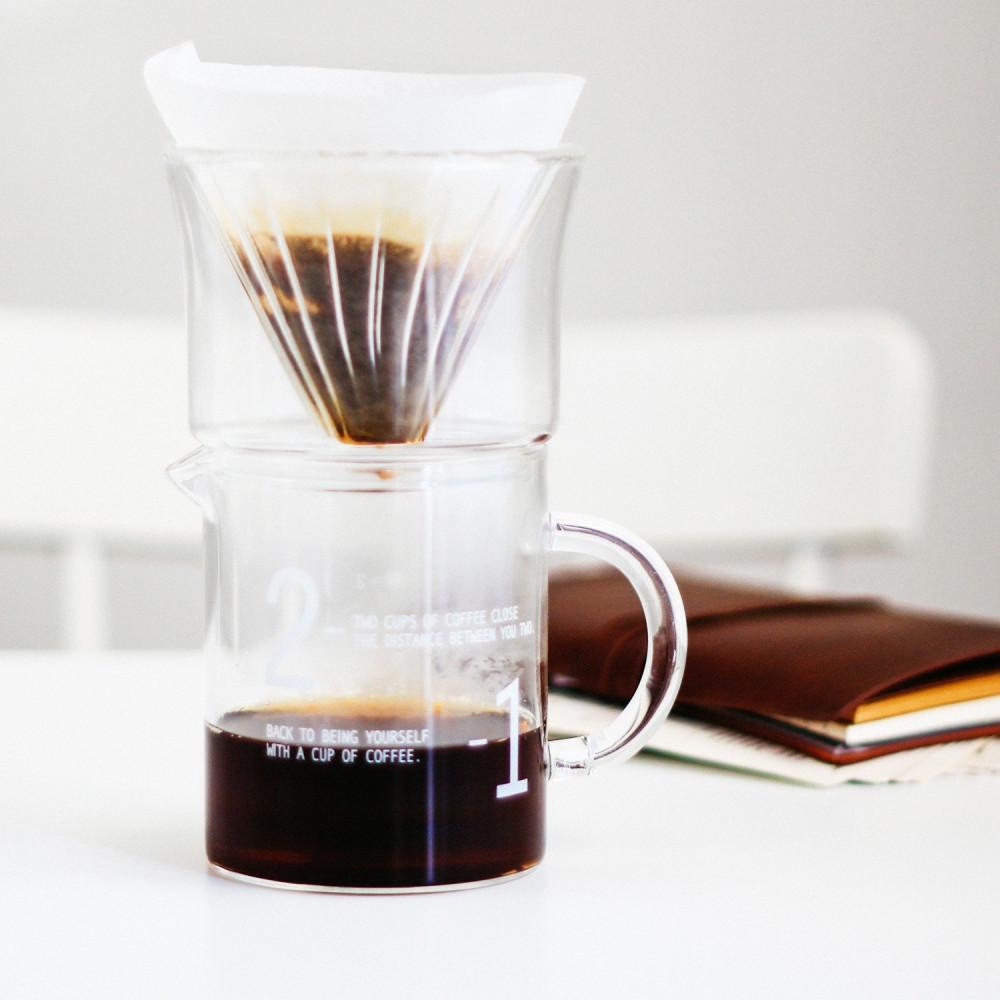 جهاز القهوة المقطرة v60 هاريو فلتر v60 كيمكس أدوات القهوة المقطرة