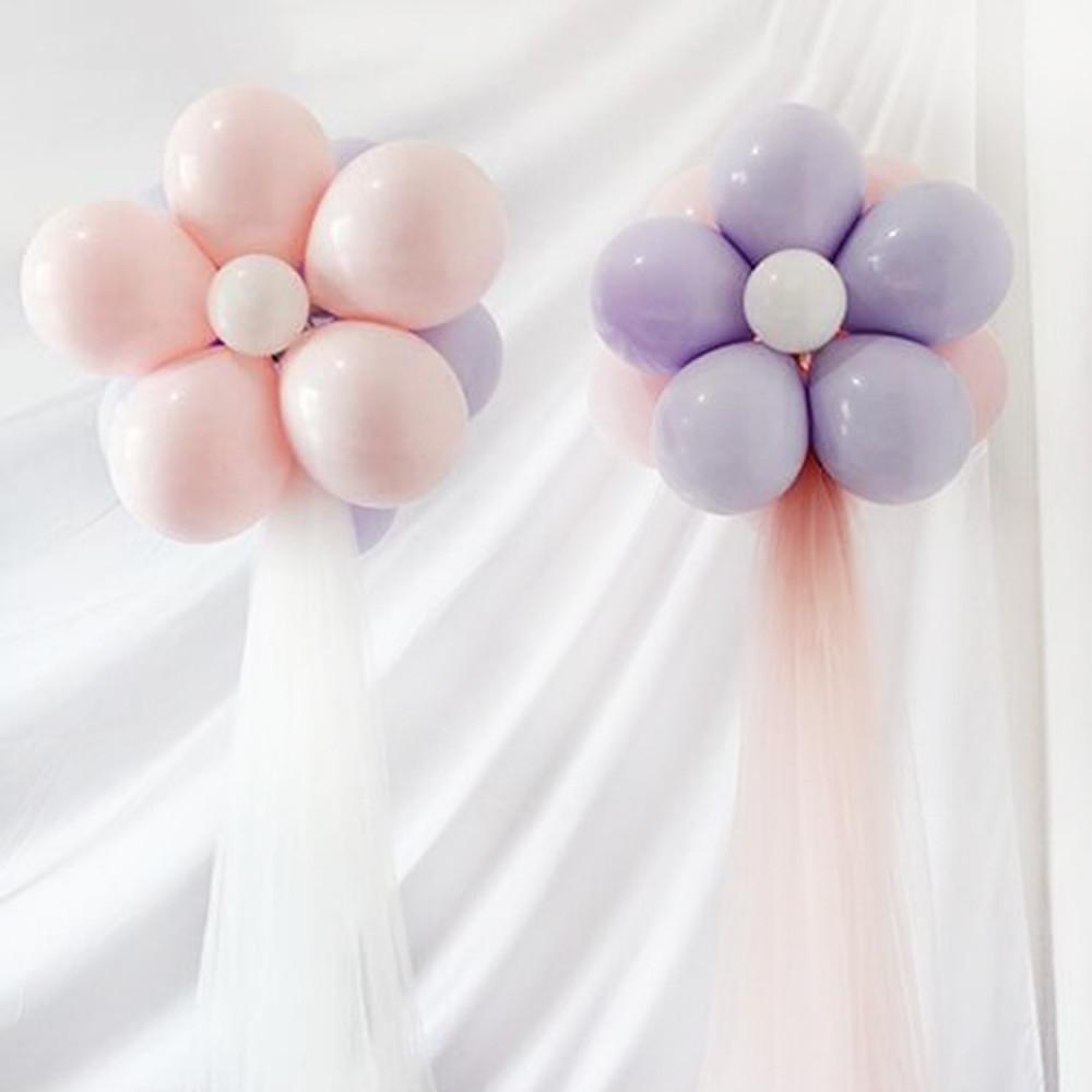 وردة من البالونات حفلة عيد الأضحي تجهيزات طريقة تنسيق طاولة الحفلة