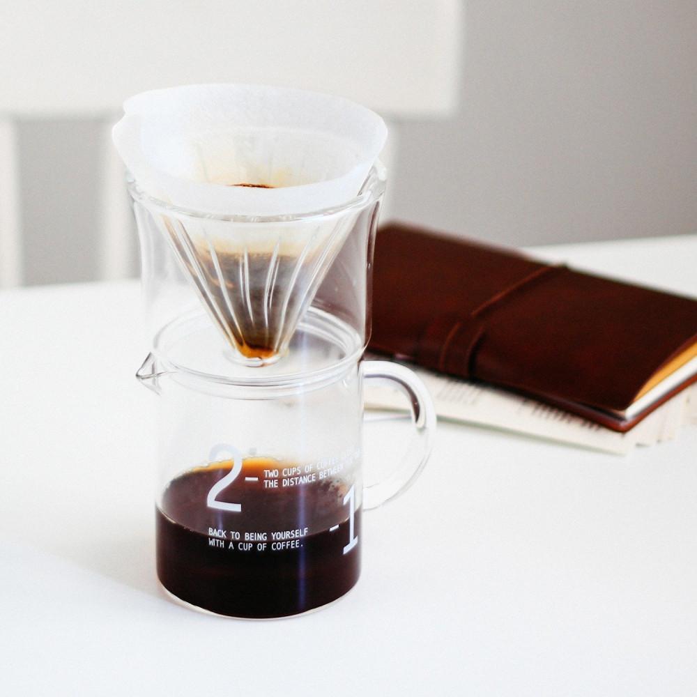 جهاز القهوة المقطرة v60 هاريو فلتر v60 كيمكس أدوات القهوة المختصة