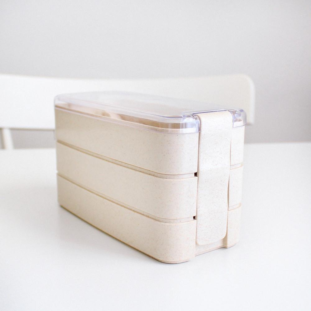 صندوق غداء لانش بوكس بيج قابل للتسخين بالميكرويف للمدرسة الدوام متجر