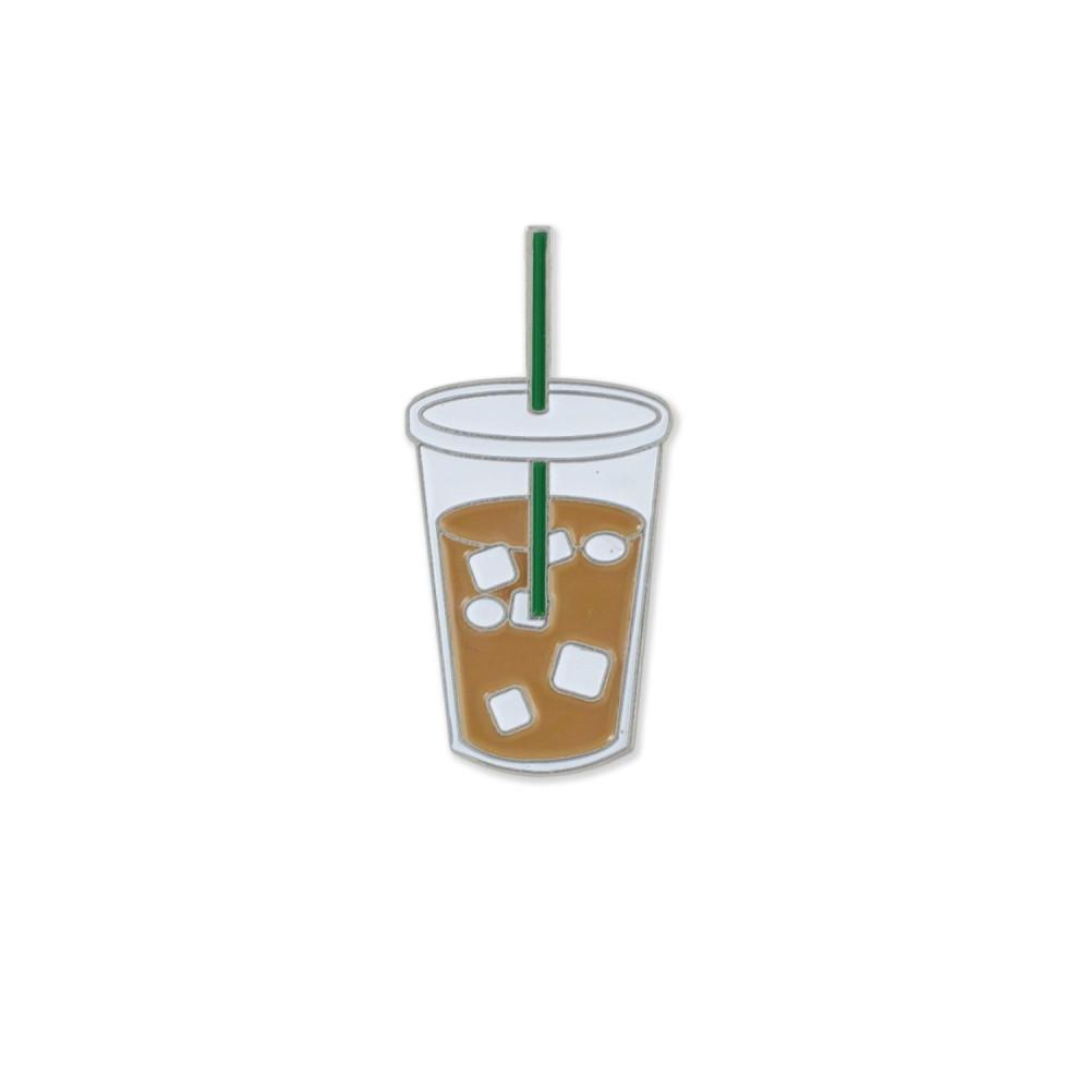 بروش قهوة باردة مثلجة ستاربكس متجر اكسسوارات القهوة بروشات للمدرسة